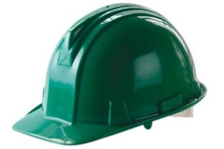 Casco Verde Armadura