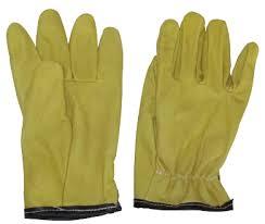 guantes de vaqueta